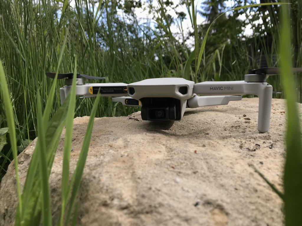 Kleine und gute Drohne für die Baustelle - DJI Mavic Mini