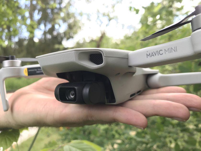 Kleine Drohne für den Garten: Mavic Mini