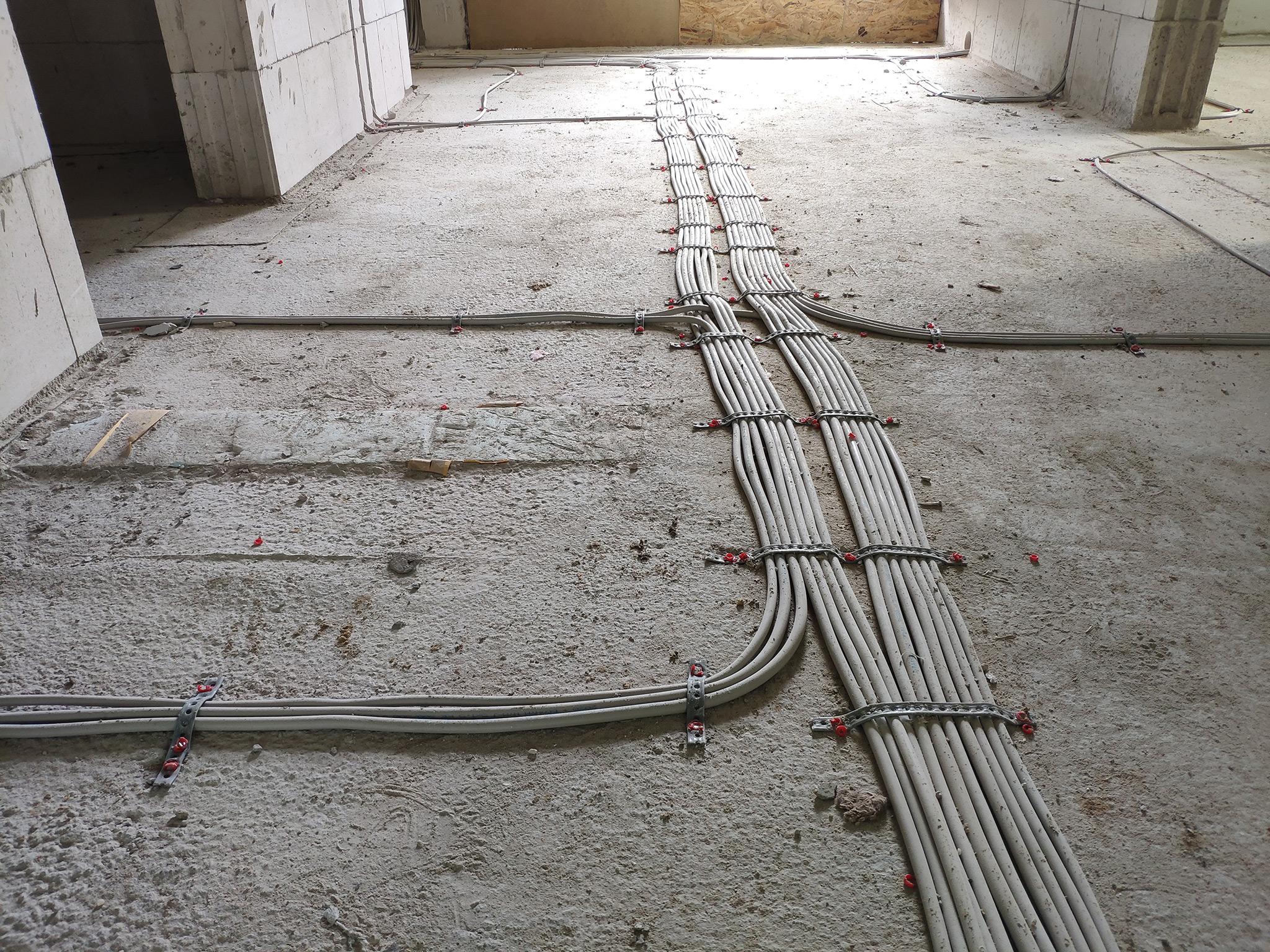 Rohinstallation Elektro Abgeschlossen Haus Am See Bau Blog